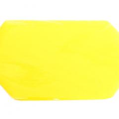 Achterbumper sticker geel